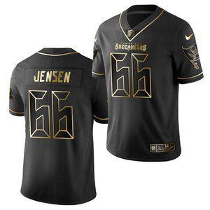 Buccaneers Ryan Jensen Black Gold Jersey
